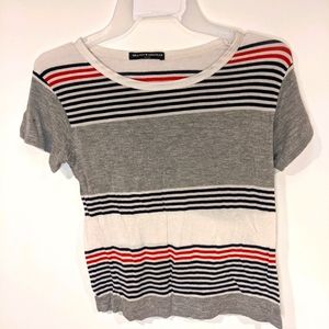 ☀️4 for $20☀️Brandy Melville Striped T-shirt